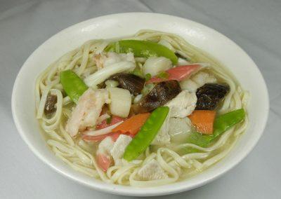Fancy Noodle Soup