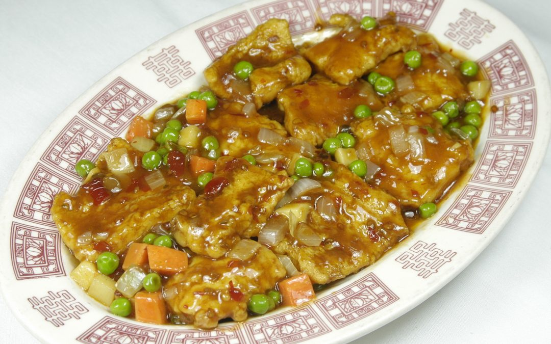 Fish with Hot Bean Sauce